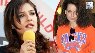 Raveena Tandon Comes Out In The Support Of Kangana Ranaut | LehrenTV