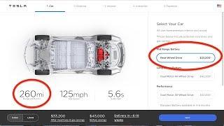 Breaking: Tesla now offers a Mid Range Model 3