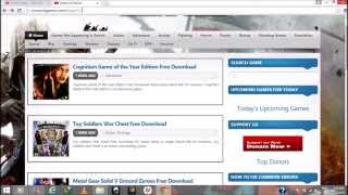 HOW TO DOWNLOAD FULL VERSION PC GAMES FOR FREE