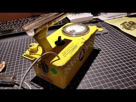 Download 1961 Victoreen 6A CDV-700 geiger counter HD Mp4 3GP Video and MP3