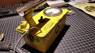 1961 Victoreen 6A CDV-700 geiger counter