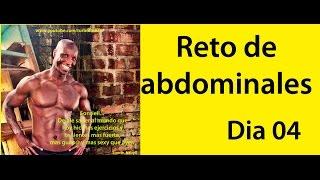ABDOMINALES EN 30 DIAS ( RETO DIA 04)