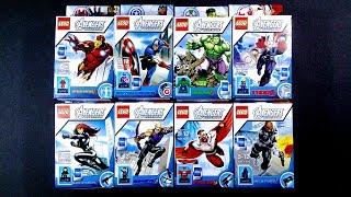 LEGO Marvel Avengers Assemble Super Heroes Minifigures (bootleg / knockoff) 1720