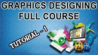 Graphics Designing Full Course in Urdu/Hindi - Tutorial-1