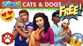 How To Download Sims 4 Pets + Base Game FREE!!!! (2018 Working)
