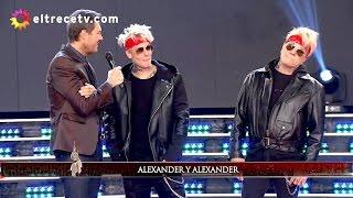 ¡Volvió Alexander Caniggia, habló