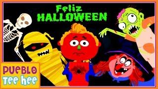 Es Halloween - Canción Infantil | Pueblo Teehee