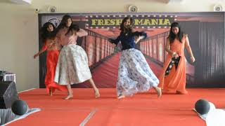 Stunning Dance Performance during Fresher Party 2017