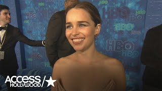 Emilia Clarke On 'Game Of Thrones' Season 7: 'It's Emotional & Not Because People Are Dying
