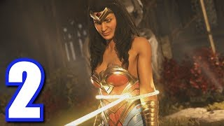 TYING UP WONDER WOMAN!   Injustice 2   Story Mode #2