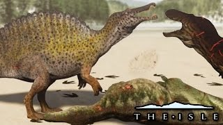 Life and Death Of A Spinosaurus - The Isle