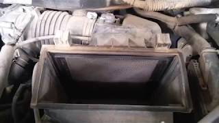 How to remove Air and A/C filter Lexus RX 350 for clean easy,