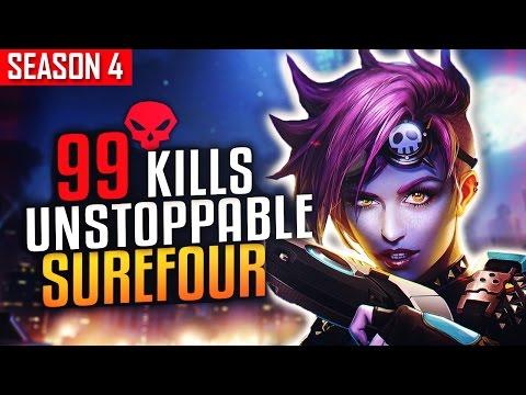 99 KILLS SUREFOUR Set Lijiang On Fire S4 TOP 500