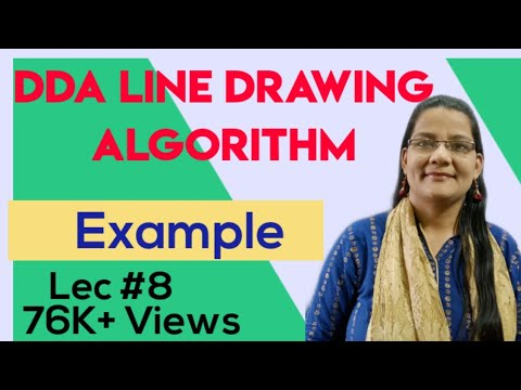 Bresenham Line Drawing Algorithm Derivation : Dda line drawing algorithm in hindi computer graphics dayclip