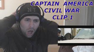 CAPTAIN AMERICA CIVIL WAR Clip 1 Just Like We Practiced Reaction