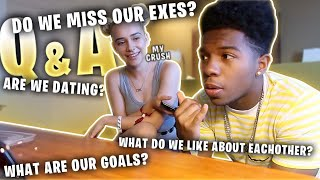 Q AND A WITH MY CRUSH *are we gonna date*