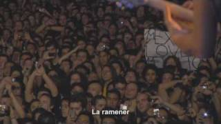 Metallica - Turn the page sous titree francais Mexico 2009 live.
