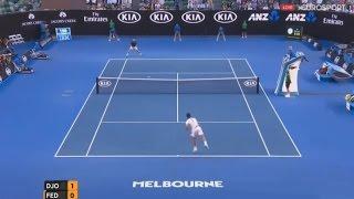 Novak Djokovic vs Roger Federer Australian Open 2016 Semi Final Highlights (HD)