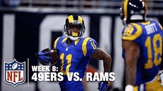 Tavon Austin Puts On the Afterburners for a 66-Yard TD! | 49ers vs. Rams | NFL