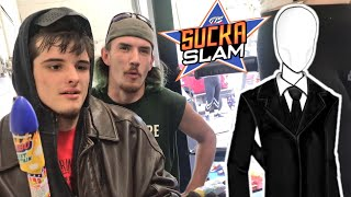 Slenderman UNMASKED - Was Yesterdays GTS Royal Rumble Good or Nah? Important Behind the Scenes video