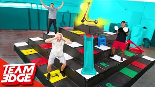 Giant Pyramid Board Game! | First to the Top Wins!!