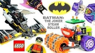 LEGO® Batman The Joker Steam Roller 76013 w/ The Batwing Robin & Batgirl Speed Build