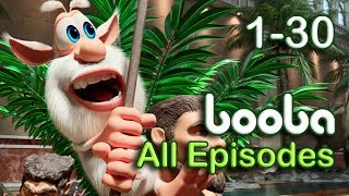 Booba - All Episodes Compilation (30-1) Funny cartoons for kids 2018 KEDOO ToonsTV