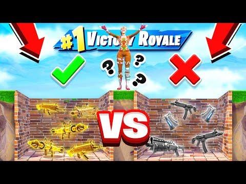 GOOD vs BAD LOOT DROPPER NEW Game Mode in Fortnite Battle Royale