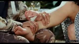 Danneel Harris foot massage scene