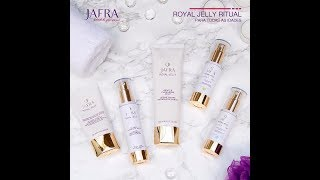 Passo a passo - Royal Jelly Ritual by Jafra