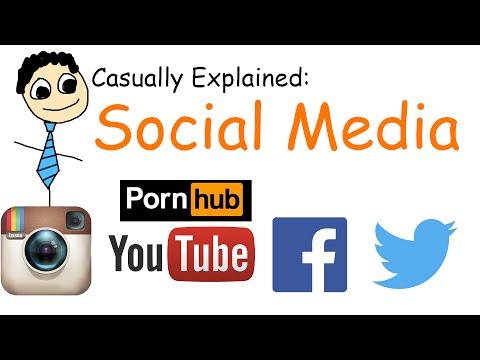 Casually Explained Social Media