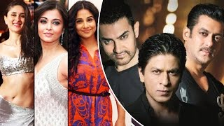 TOP Actresses Who REJECTED Film Opposite Bollywood KHAN