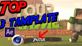 TOP 3 intro tamplate Minecraft free download link [C4D&AE]