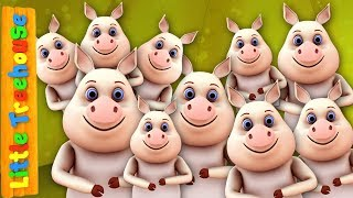Ten In The Bed   Kindergarten Nursery Rhymes for Babies by Little Treehouse