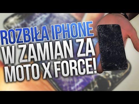 Rozbiła iPhone wzamian za Lenovo Moto X Force!