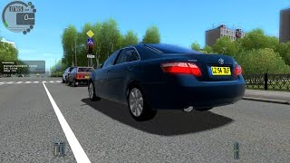 City Car Driving 1.4.0 Toyota Camry 2008 [1080P]