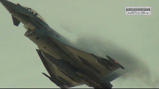 RAF TYPHOON DEMO 2015 (airshowvision)