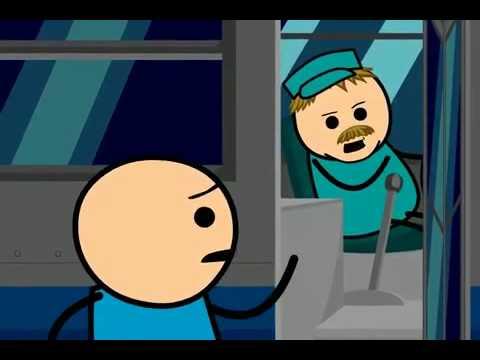 Cyanide & Happiness Esperando el Bus subtitulado