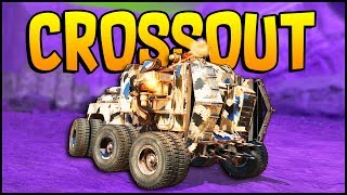 Crossout - TRIPLE EQUALIZER MINIGUN & DRONE ARMY TRANSPORT BUILD! - Crossout Gameplay