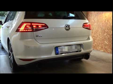 Underground Exhaust VW Golf 7 GTI Stage 2 Sound DSG