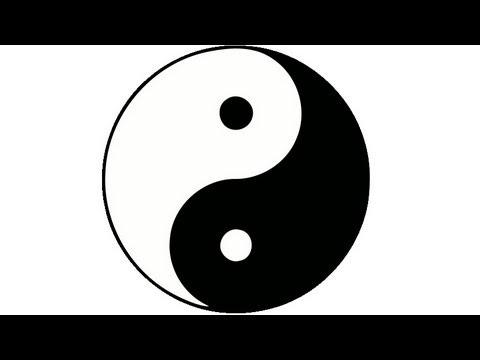 How to draw a perfect yin yang symbol. HD   Daikhlo