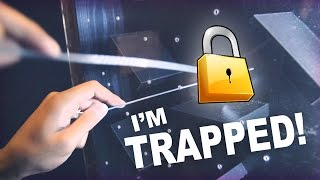 My First Escape Room - I Got Trapped!