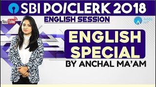 SBI PO   English Special   Fillers   Anchal Ma'am