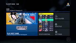 2016 NHL Playoff Sim- Round 1- NHL 16 Gameplay
