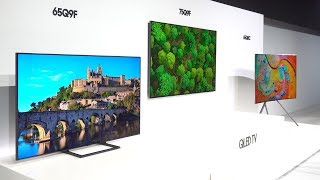 Samsung 2018 QLED 4K HDR TVs First Look NYC