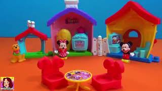 Mickey Mouse Minnie Mouse and Pluto - Disney Toys #Mickeymouseclubhouse