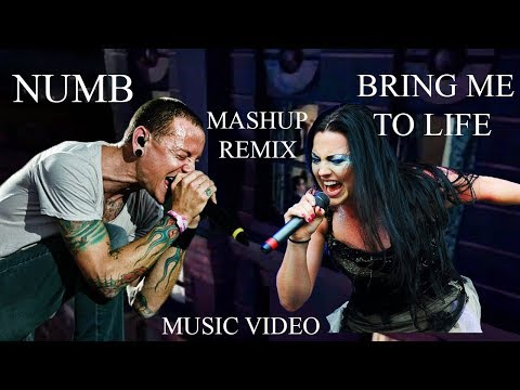 Linkin Park & Evanescence Numb Life Official Video Mashup Numb & Bring Me To Life