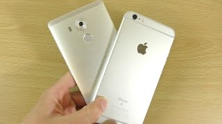 Huawei Mate 8 VS Apple iPhone 6S Plus - Speed & Camera Test!