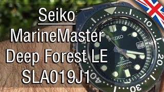 """Seiko SLA019 MarineMaster """"Deep Forest"""" Lim. Ed., the first review (English version)"""