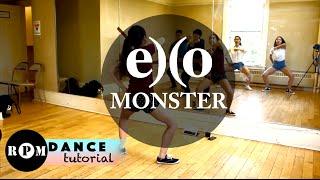 "EXO ""Monster"" Dance Tutorial (Chorus)"